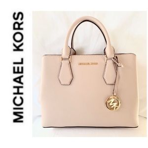 NWT authentic MK leather Camille satchel ballet